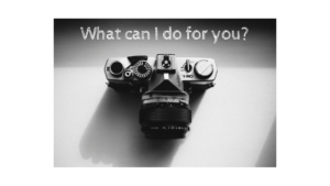 What can I do for you sharing photo project
